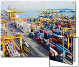 Overview of the Containers at the Port of Singapore Authority