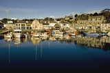 Padstow Marina Reflecting in Water