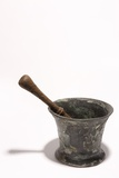 A Mortar and Pestle Recovered from Blackbeard's Queen Anne's Revenge