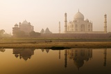 Taj Mahal in Early Morning; Agra  India