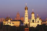 Kremlin Against Moody Sky