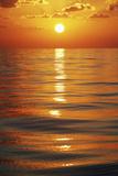Sunset over Ocean Horizon