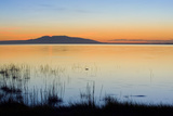 Sunset over Mount Susitna *Sleeping Lady* across Knik Arm Southcentral Alaska Summer
