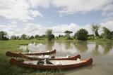 Canoes on the Lower Zambezi