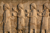 A Relief of National Representatives Within the Achamenid Empire with Tribute Gifts for the King