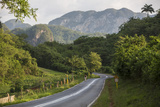 A Highway Running from Vinales to San Cayetano Through a Region known for Tobacco Farms