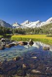 California  Bishop  Little Lakes Valley  Beautiful Scene in the Eastern Sierras