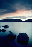 Derwent Water with Catbells at Sunset