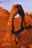 View of Delicate Arch in Arches National Park