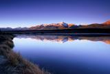 Reflection of Mount Elbert in Crystal Lake Near Leadville  Colorado