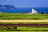 Church at Ballintoy on the North Coast of Northern Ireland