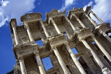 Ruins of the Great Library at Ephesus