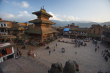 Durbar Square in the Medieval City of Bhaktapur