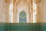 Exterior Mosaic Tile Work of the Hassan Ii Mosque