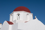 Detail of the Architecture of a Domed Greek Orthodox Church