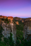 Monasteries Perch on the Edge of Cliffs in the World Heritage Site of Meteora