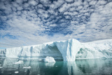 Glacial Ice of the Ilulissat Icefjord