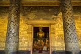 The Interior of Wat Xieng Thong Temple in Luang Prabang