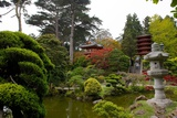 A Japanese-Style Building in the Japanese Tea Garden  the Oldest Public US Japanese Garden