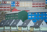 Buildings in Sisimiut Looking Like Stacked Up Toys