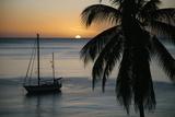 Sunset in Saint Pierre