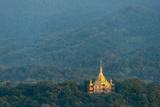 Wat Pa Phon Phao Temple on a Ridge Near Luang Pragang