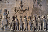 The Large Bas-Relief and Inscription of Darius the Great  in Behistun  Iran