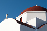 Detail of the Architecture of a Greek Orthodox Church