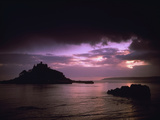 Pink Sky over St Michael's Mount