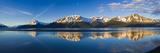 Panoramic View of Turnagain Arm and Kenai Mountains Near Girdwood