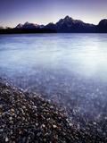 Surface View of Jackson Lake in Grand Teton National Park