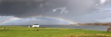 Rainbow  Island of Iona  Scotland