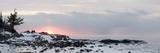 Winter Along Lake Superior at Sunrise; Minnesota  USA