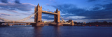Tower Bridge at Sunset  London England Uk