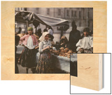 Peasant Women Sell Bread at the Market