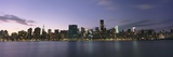 Manhattan Island Viewed from Long Island City at Dusk