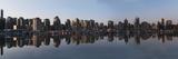 Vancouver City Skyline; Vancouver British Columbia Canada