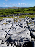 A View Towards Mullaghmore in the Burren  County Clare  Ireland
