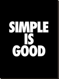 Simple is Good