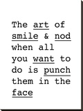 The Art of Smile and Nod