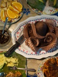 Catch of the Day  Octopus  for Dinner at Selakan Island