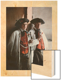 Two Peasants Pose in Swabian Dress