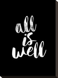 All Is Well BLK