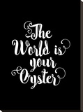 The World is Your Oyster Blk
