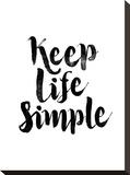 Keep Life Simple