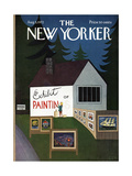 The New Yorker Cover - August 5  1972