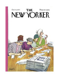 The New Yorker Cover - October 15  1973