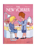 The New Yorker Cover - June 11  1990