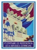 Dominican Republic - 1844-1944 - 1er Centenario de Independencia (1st Centennial of Independence)