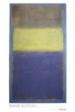 No. 2/No. 30  (Yellow Center) Reproduction d'art par Mark Rothko